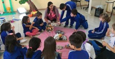 1ºs anos: Chá Encantado das Famílias Silábicas