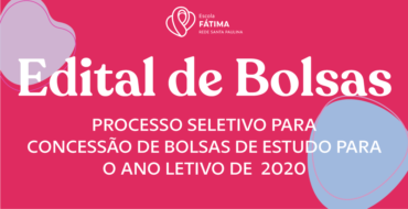 Edital de Concessão de Bolsas de Estudo 2020