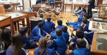 5ºs anos: Saída Pedagógica ao Museu Anchietano