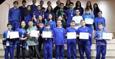 Escola é destaque em Olimpíada de Matemática