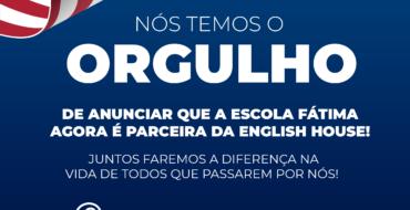 Nova Parceria: Escola de Inglês English House